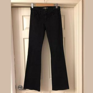 Lucky Brand Brooke Flare Black Stretch Jeans 6/ 28